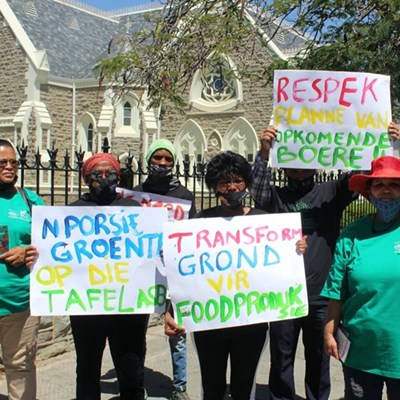 Locals march for climate justice