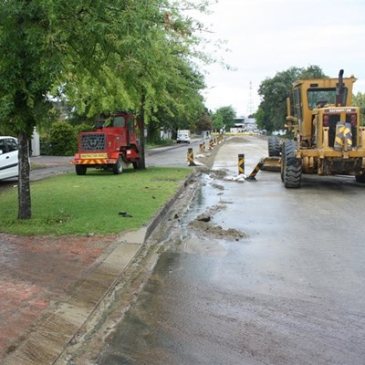 Caledon Street rehabilitation and upgrade