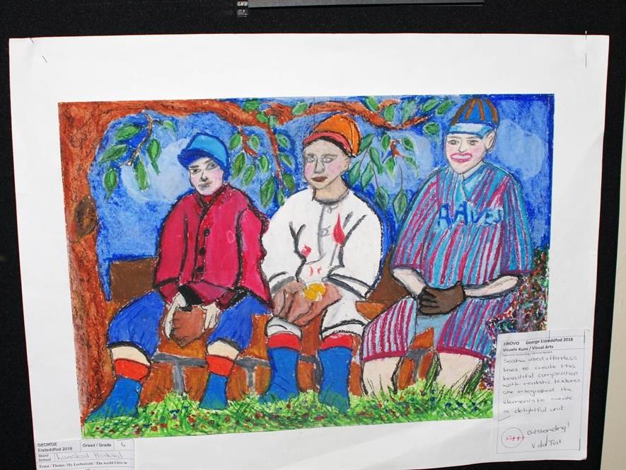 Hoekwil learners' artworks make national news