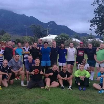 Just Water George-rugbyklub se oefengroep