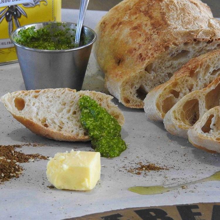 New artisan bread bakery at STARS restaurant