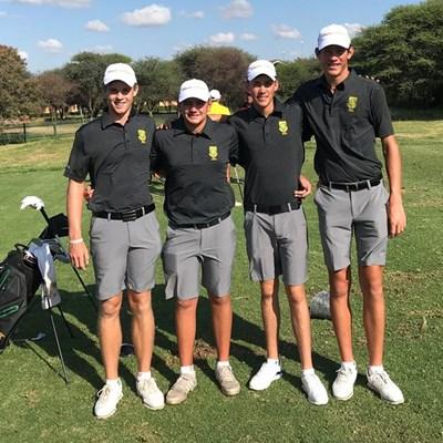 GolfRSA Juniors make solid start in Botswana