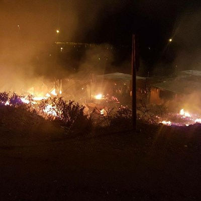 Qolweni homes destroyed in fire