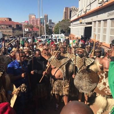 Queen Mantfombi's mortal remains depart for KZN