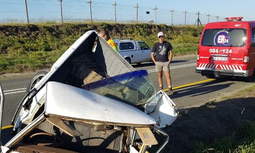 Ongeluk op R102