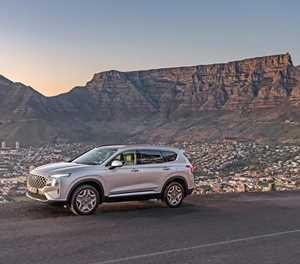 Hyundai Santa Fe leads the way