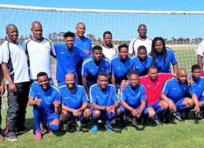 Football teams face off in Mossel Bay