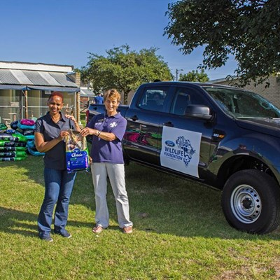 Ford SA supports Garden Route SPCA