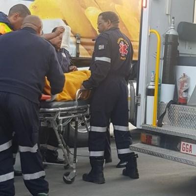 Vrou deur vragmotor getref in Kerkstraat