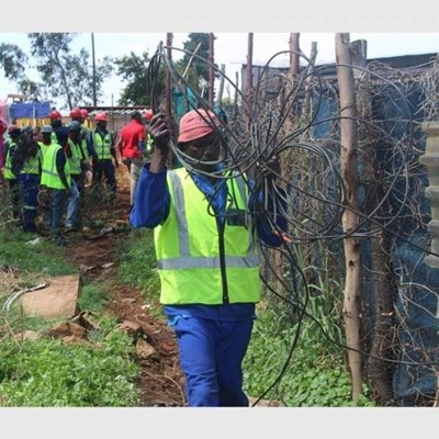 Baby dies after touching exposed electricity cables in Boksburg