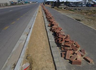 Nelson Mandela Boulevard roadworks halted