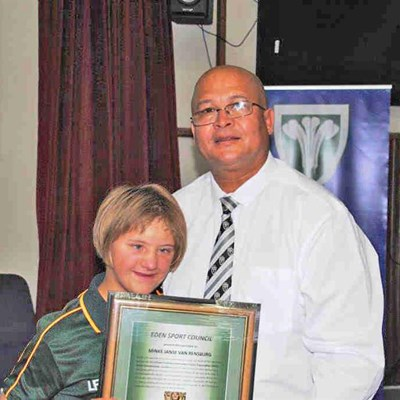 Accolades awarded at annual Eden Sport Council members meeting