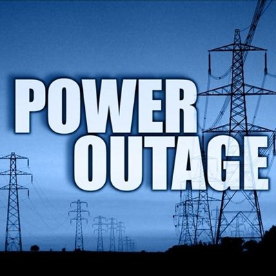 Power outage: Portion Ebb & Flow line
