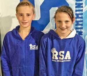 Royal swimmers tops at Eden Aquatics
