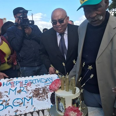 Man celebrates 114th birthday