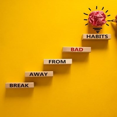 How to create a new habit, or break a bad one