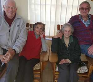 Hartenrus-bure vier beide 60ste huweliks herdenking