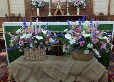 Flower Show at St James' Anglican Church