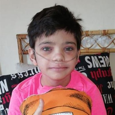 11-jarige kankerlyer terug by die huis