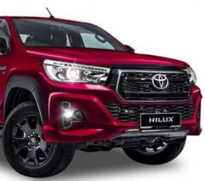 Toyota Hilux dons Black suit in Malaysia