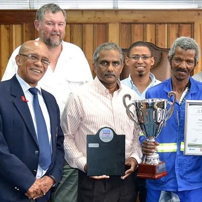 Municipality scoops water awards