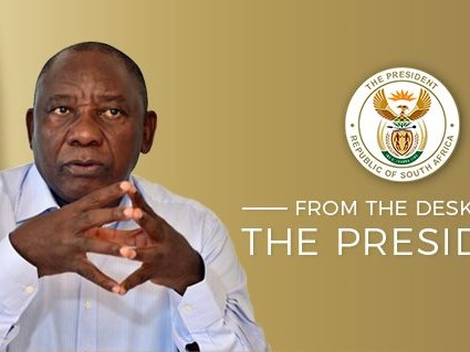 President speaks of the re-opening of schools