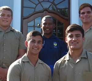 Oakdale-rugbyspelers deel van Saru virtuele oefenkamp