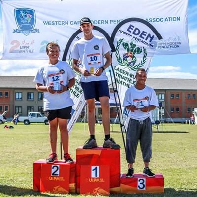 Eden scoops 27 trophies at Laser-Run