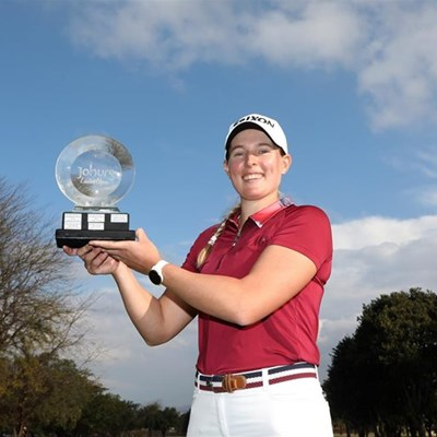 Heaven for Hall as she takes the Joburg Ladies Open
