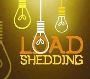More load shedding this week