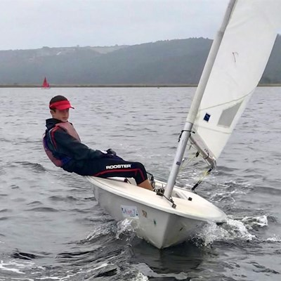 Conditions allow for good sailing