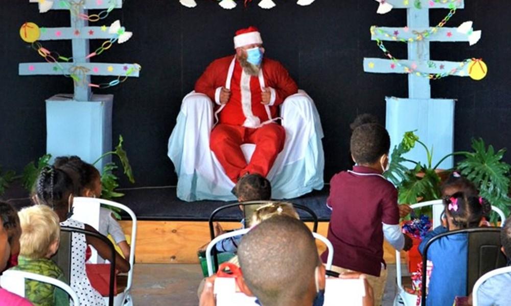 Santa Shoebox brings joy
