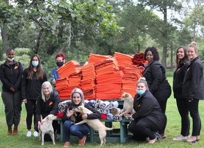 Blankets for animals at Odin