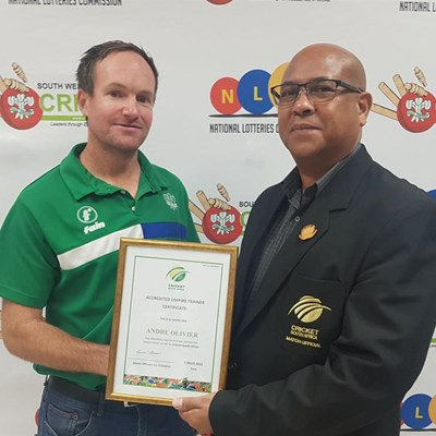 Special merit award for SWD cricket coach