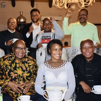 Who funded Zuma and Malema's 'tea meeting'? DA writes to Speaker Modise seeking answers