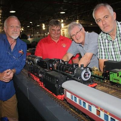 Model train exhibition enchants