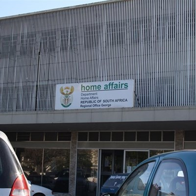 George Home Affairs office closed