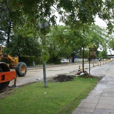 Update: Caledon Street roadworks