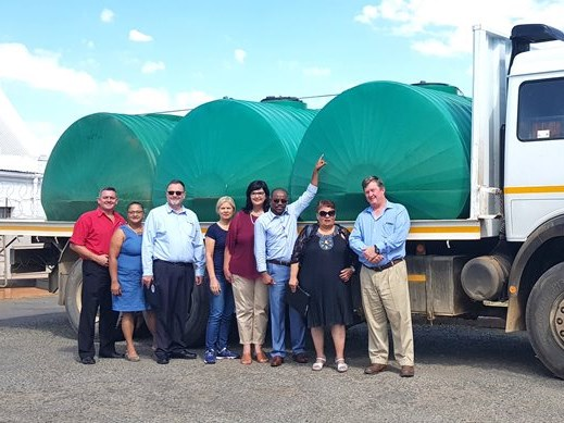 Water donated to Zoar