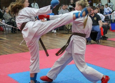 Great karate in top tournament
