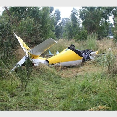East Rand: 2 die in light aircraft crash