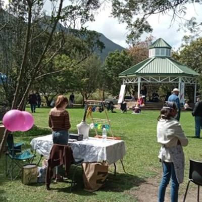 Tuindag-vieringe by botaniese tuin
