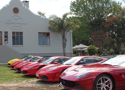 Garden Route Ferrari Club drive for charity