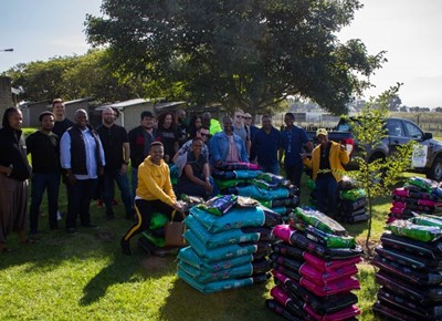 Ford spread the love at Garden Route SPCA