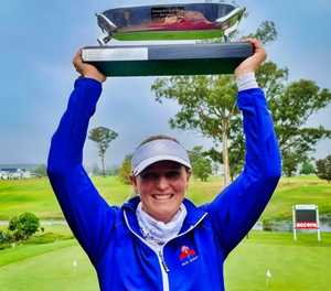 Traut battles back to SA Women's Mid-Am glory
