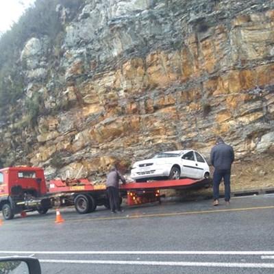 2 ongelukke op Outeniquapas