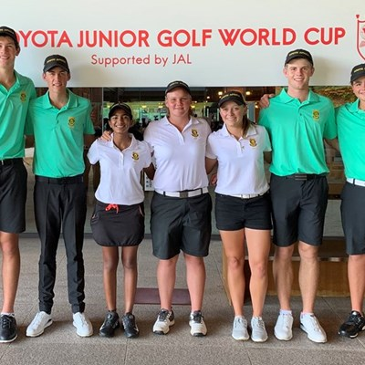 GolfRSA Boys hit the front in Japan