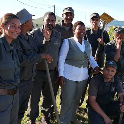 SANParks go all out on Mandela Day