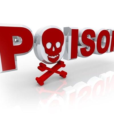 Poisoning warning