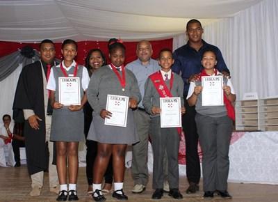 Erika Primary School certificate ceremony